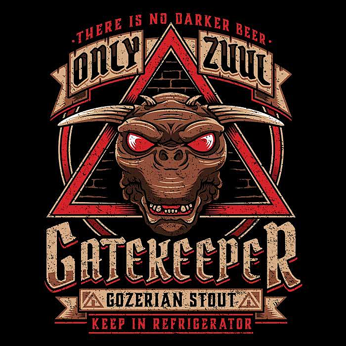 Once Upon a Tee: Gatekeeper Gozerian Stout