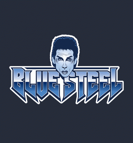 BustedTees: Blue Steel