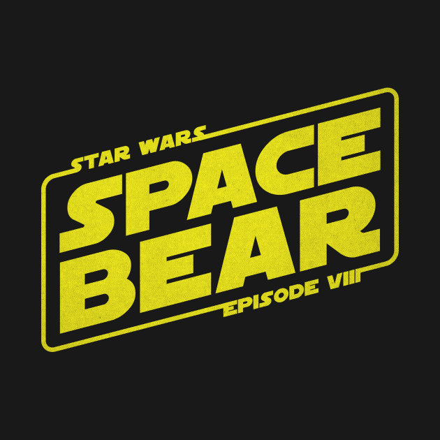 TeePublic: Star Wars Episode VIII - Space Bear
