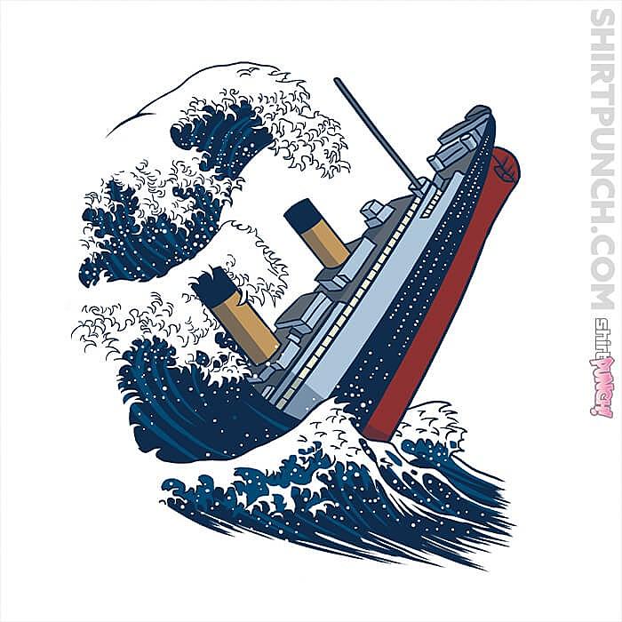 ShirtPunch: The Wave Titanic