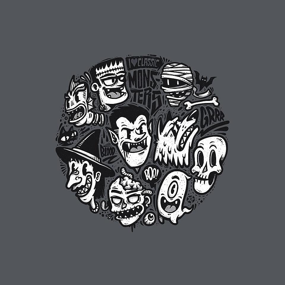 TeeFury: Classic Monsters