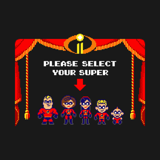 TeePublic: Super Incredible Family II
