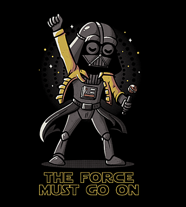 Shirt Battle: The Force Must Go On