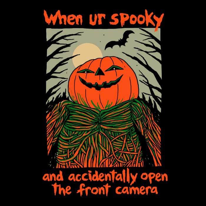 Once Upon a Tee: Spooky Selfie