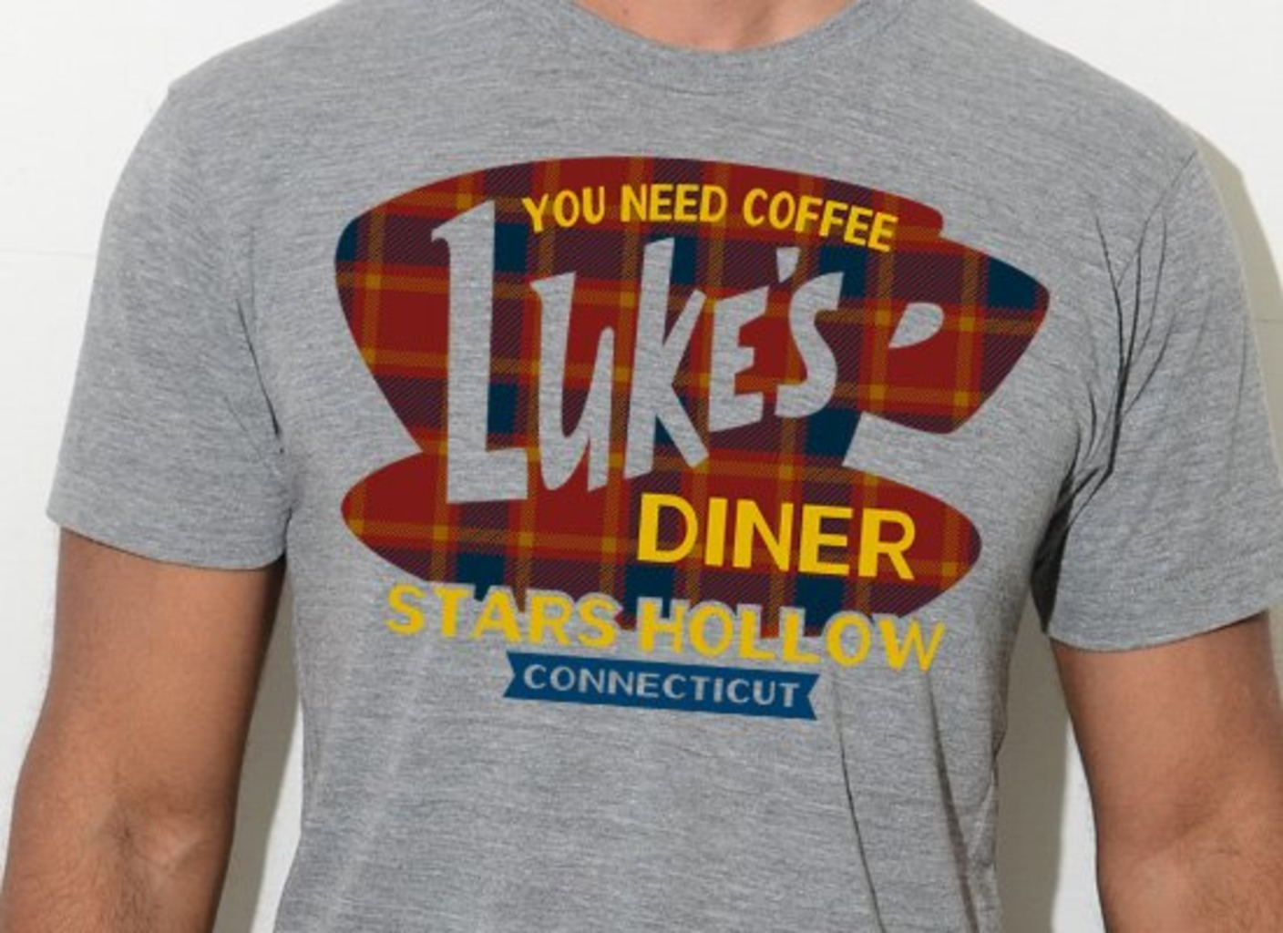 SnorgTees: Luke's Diner Limited Edition Tri-Blend