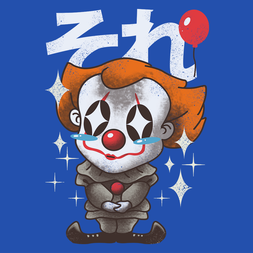 Pop-Up Tee: Kawaii Clown