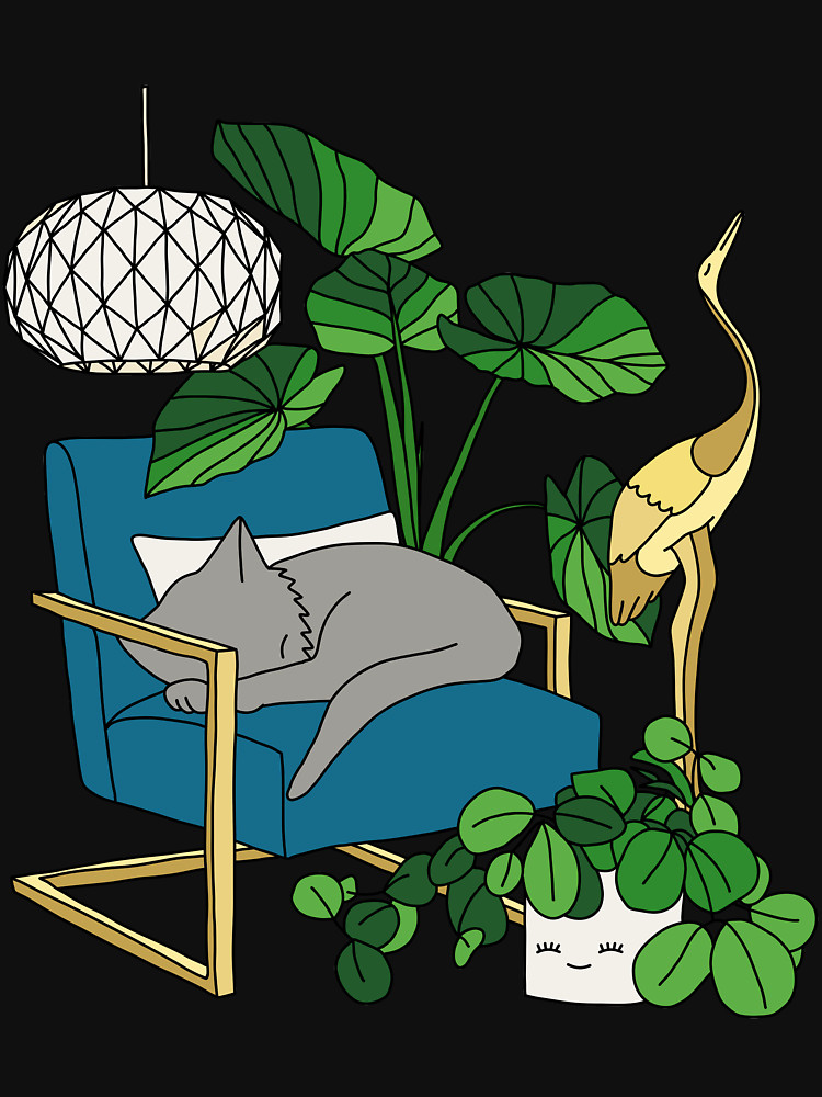 RedBubble: Cat nap by Elebea