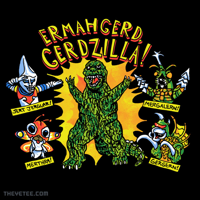 The Yetee: Gerdzilla