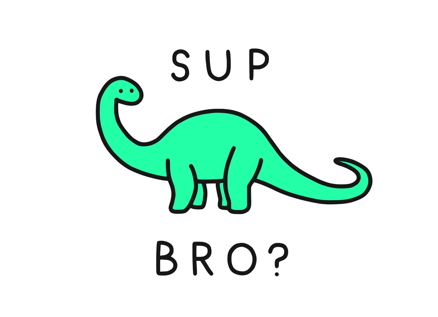 Threadless: Sup Brontosaurus?
