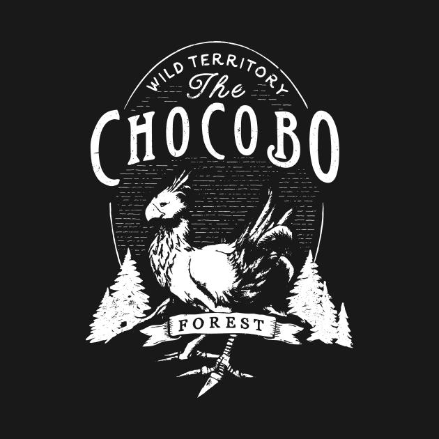 TeePublic: The Chocobo Forest