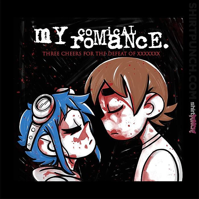 ShirtPunch: My Comical Romance