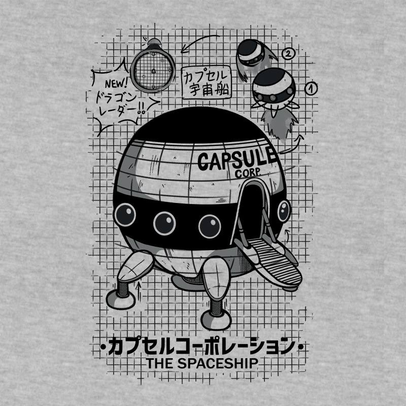 Pampling: Capsule Spaceship