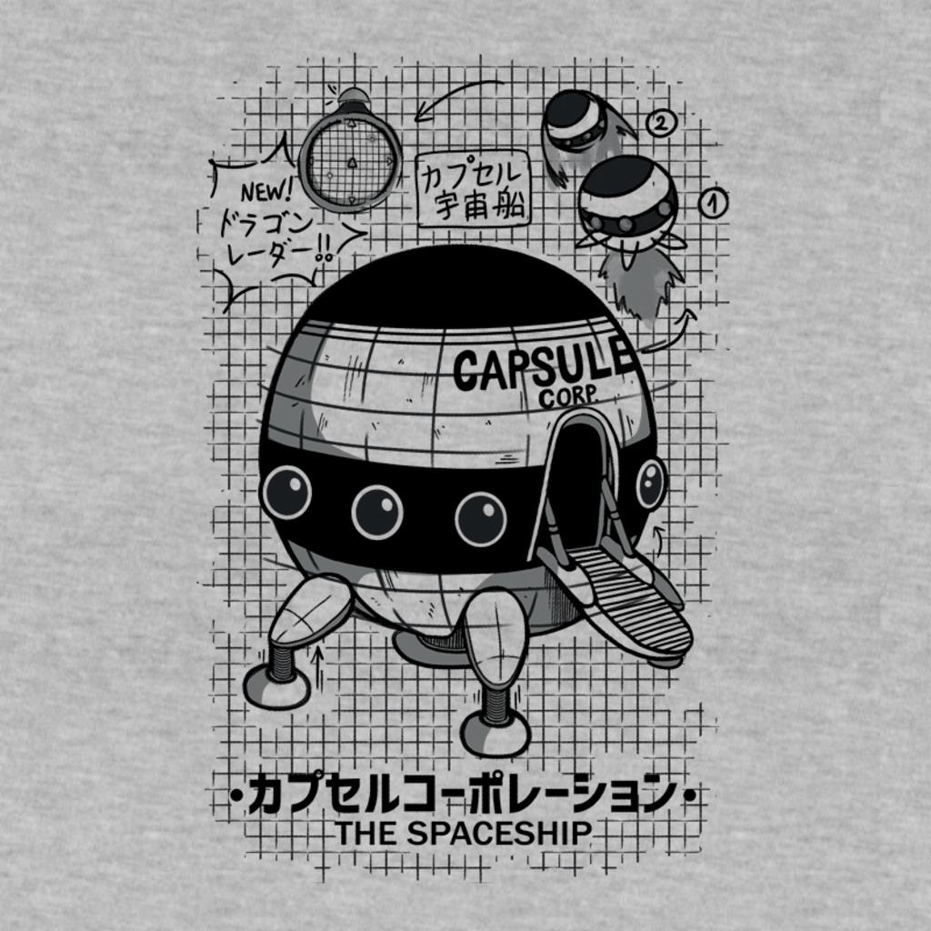 Pampling: Capsule Spaceship