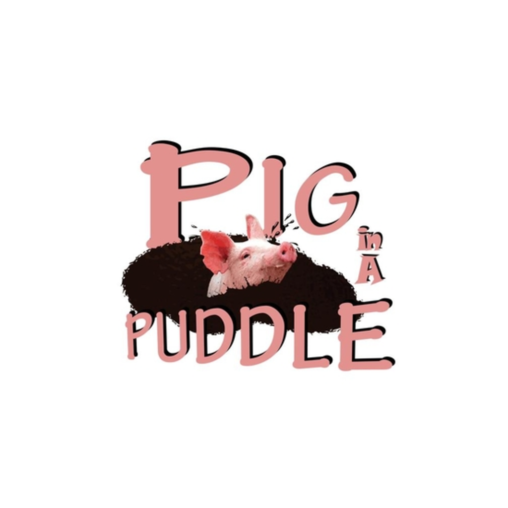 BustedTees: Pig in a Puddle