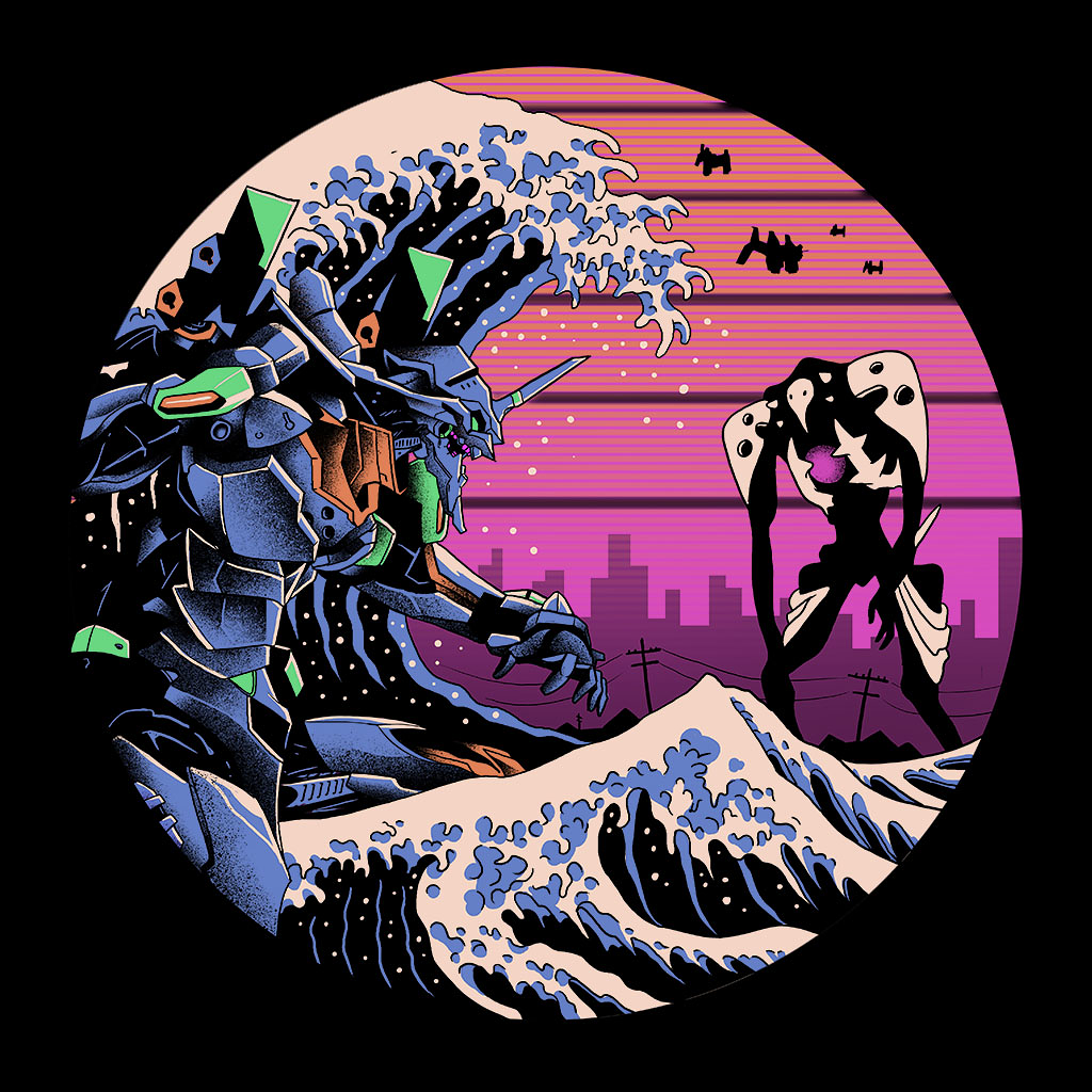 TeeTee: Retro Wave EVA