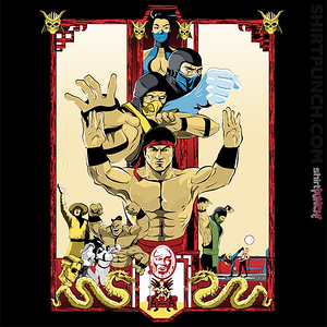 ShirtPunch: Enter Kombat