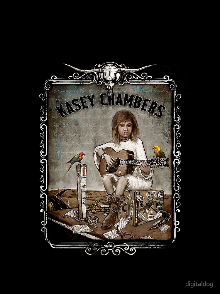 RedBubble: Kasey Chambers by O'Malley