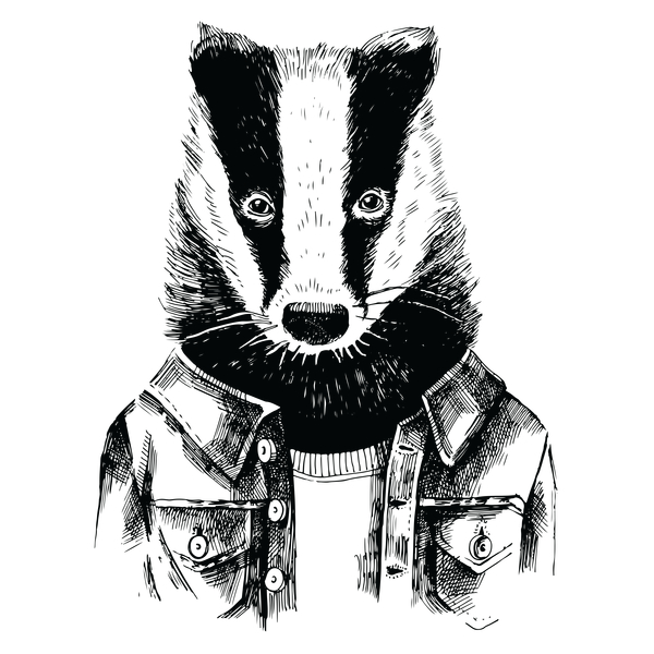 NeatoShop: Hipster Badger