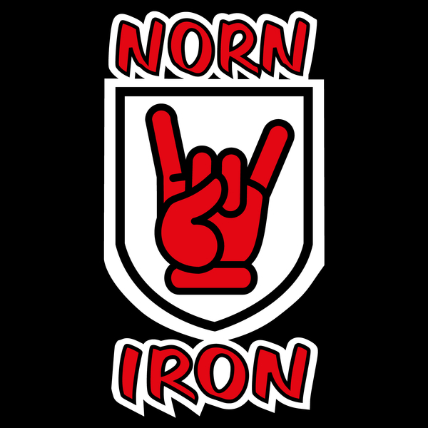 NeatoShop: Norn Iron / Northern Ireland Red Hand of Ulster - Devil Horns
