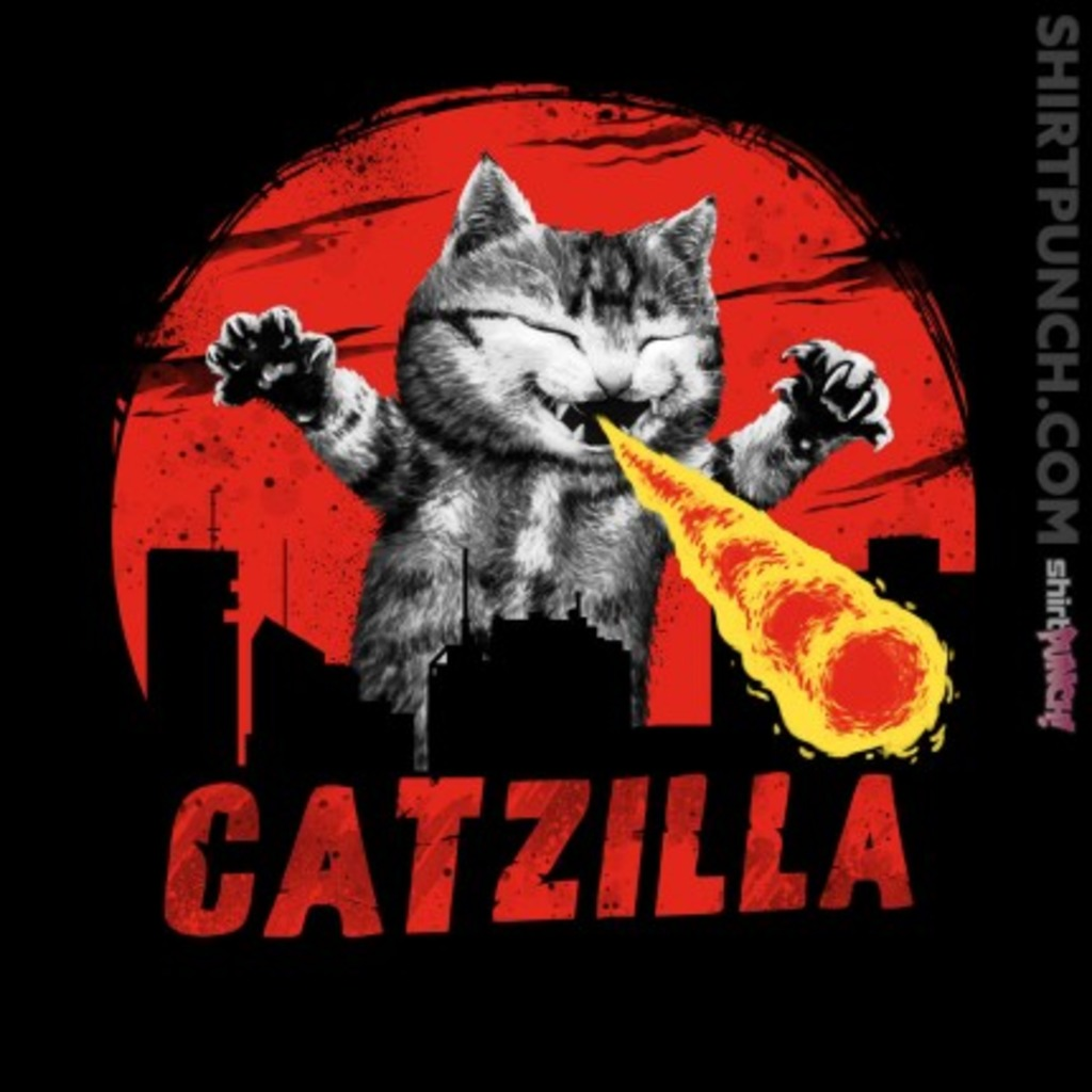 ShirtPunch: Catzilla