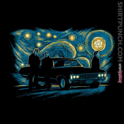 ShirtPunch: Supernatural Lights