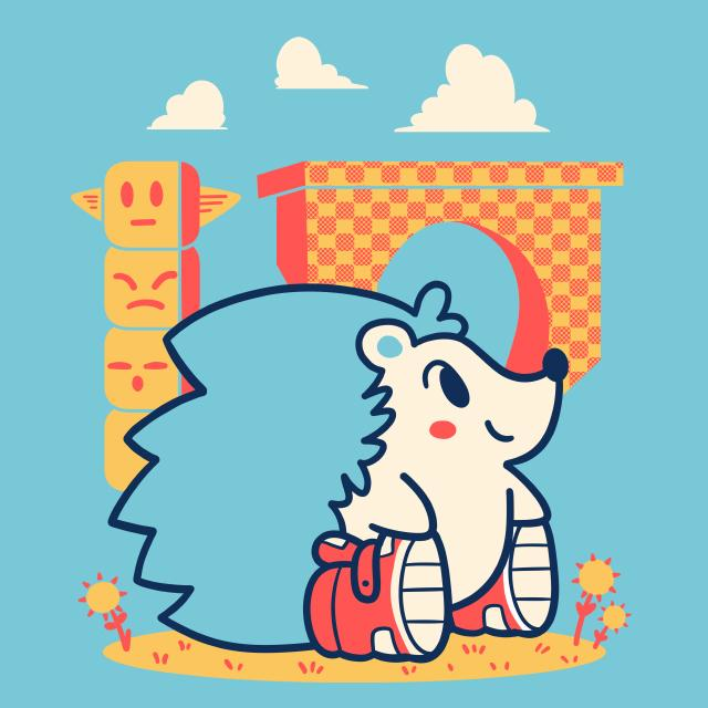 The Yetee: Spiky Friend