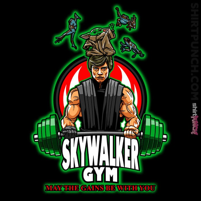 ShirtPunch: Skywalker Gym