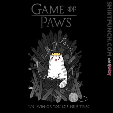 ShirtPunch: Game of Paws