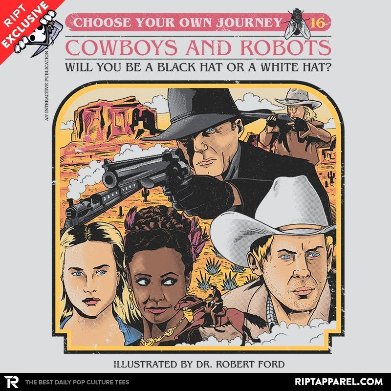 Ript: Cowboys & Robots Choose Your Own