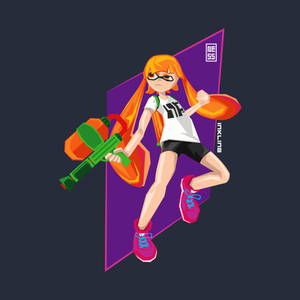 TeePublic: Inkling Squid Girl