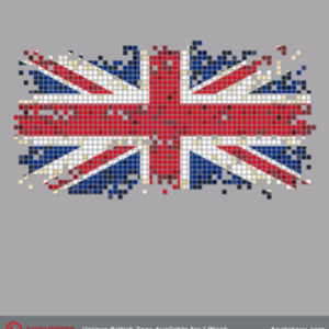 Anglotees: Pixel UK Flag