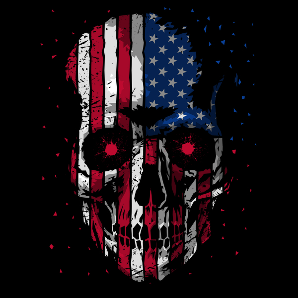 NeatoShop: Skull Flag USA