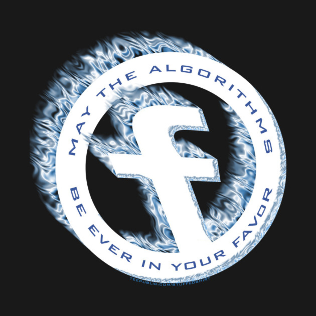 TeePublic: May The Algorithms Be Ever In Your Favor T-Shirt