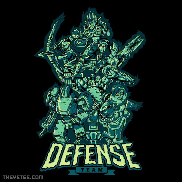 The Yetee: Defense Team
