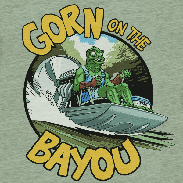 GraphicLab: Gorn On The Bayou