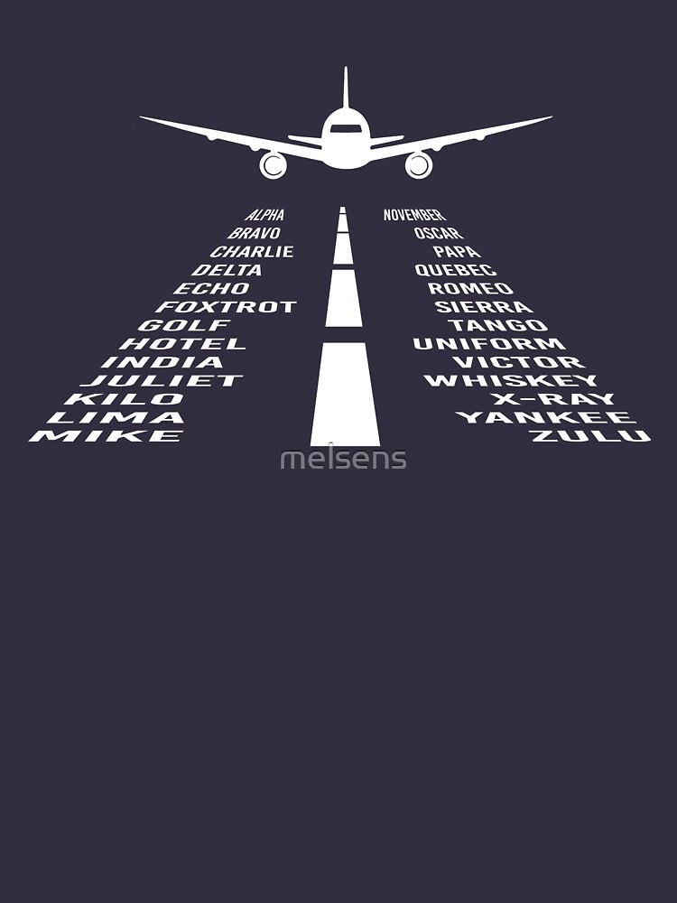 RedBubble: Airplane Phonetic Alphabet | Pilot Gift