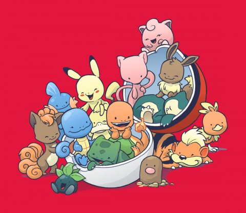 TeeFury: Gotta Fit Them All