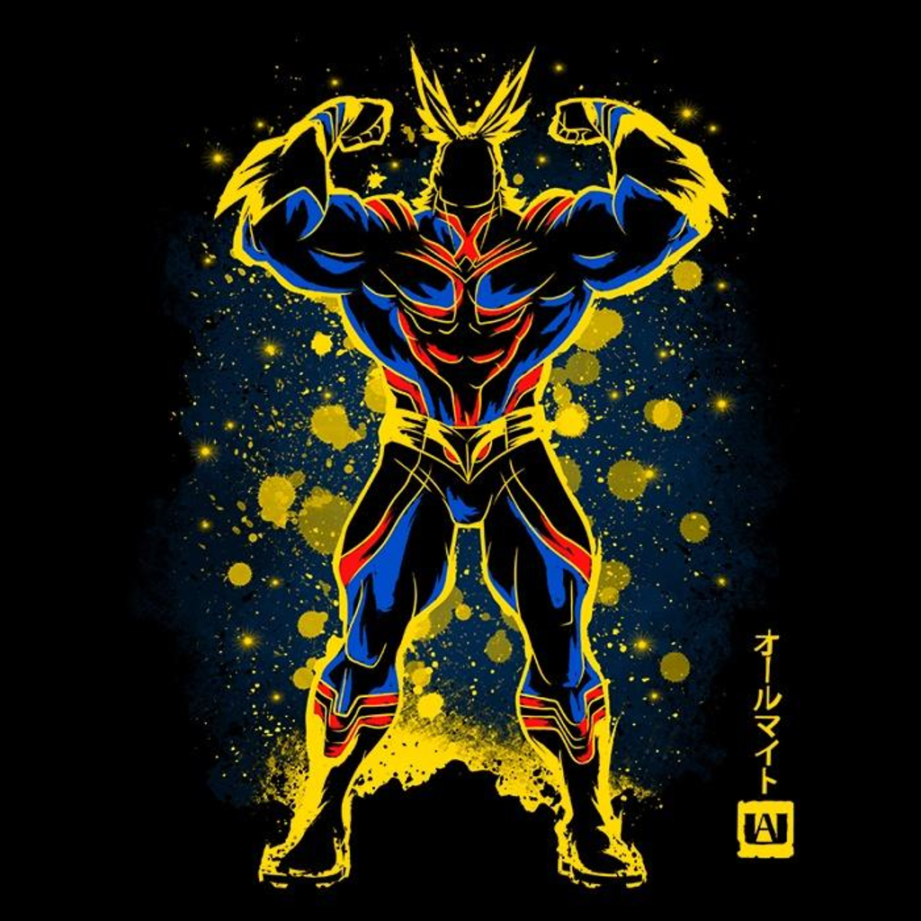 Once Upon a Tee: The All Might