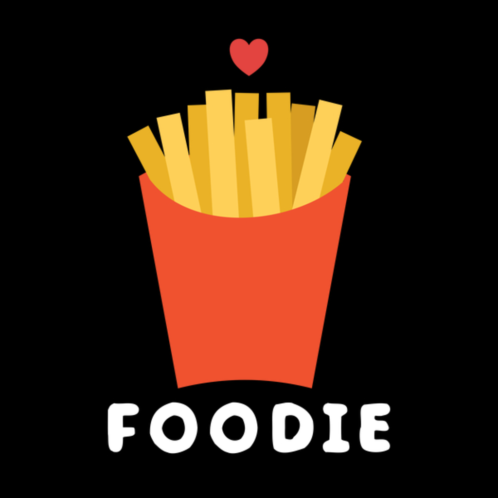 NeatoShop: Flat design Whimsical and cute foodie fries
