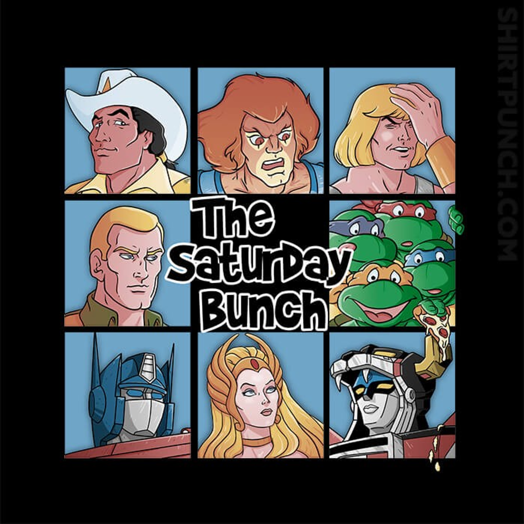 ShirtPunch: The Saturday Bunch