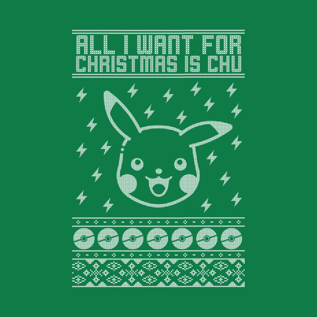 TeePublic: Pokemon Christmas Sweater