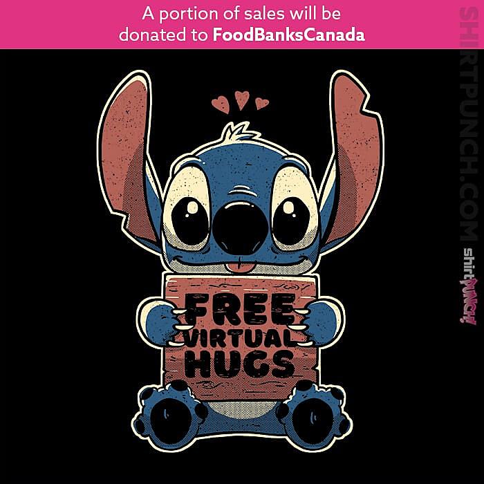 ShirtPunch: Free Virtual Hugs
