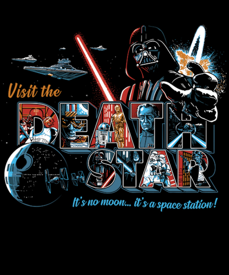 Qwertee: Visit a Space Station