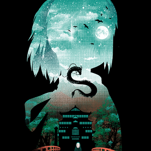 Qwertee: Midnight Spirit