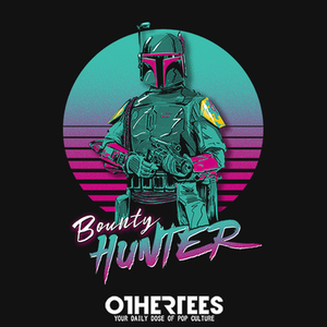 OtherTees: Retro Bounty Hunter