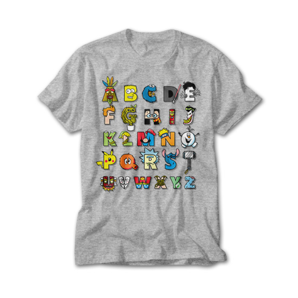 OtherTees: ABC nerd