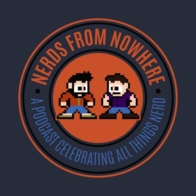 TeePublic: Nerds From Nowhere Logo