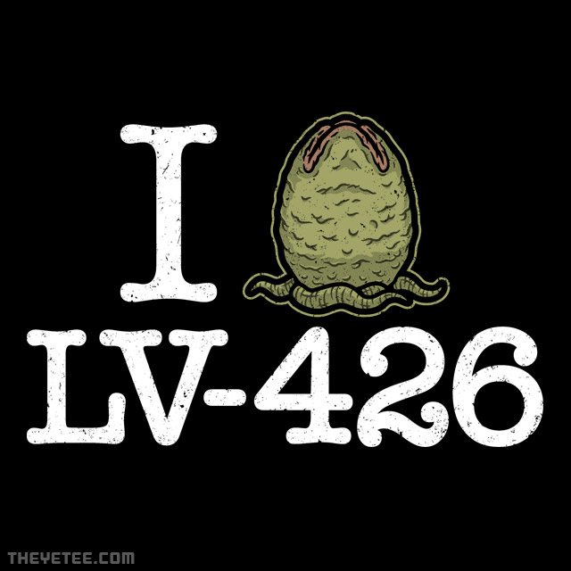 The Yetee: I Love LV-426