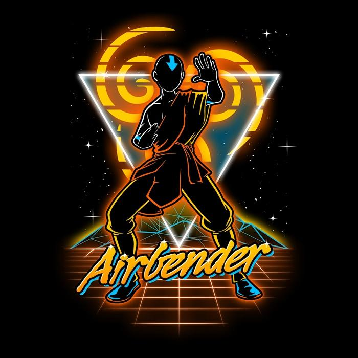 Once Upon a Tee: Retro Airbender