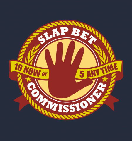 BustedTees: Slap Bet Commissioner